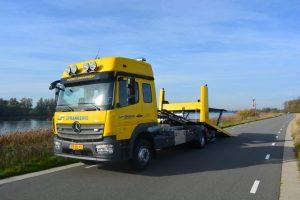 Voorraad truck de Groot Techniek